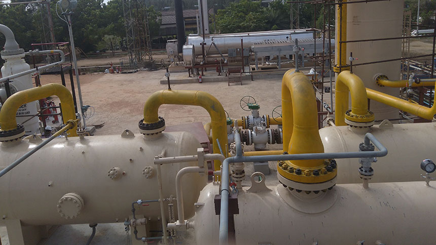 Gas Dehydration Plant